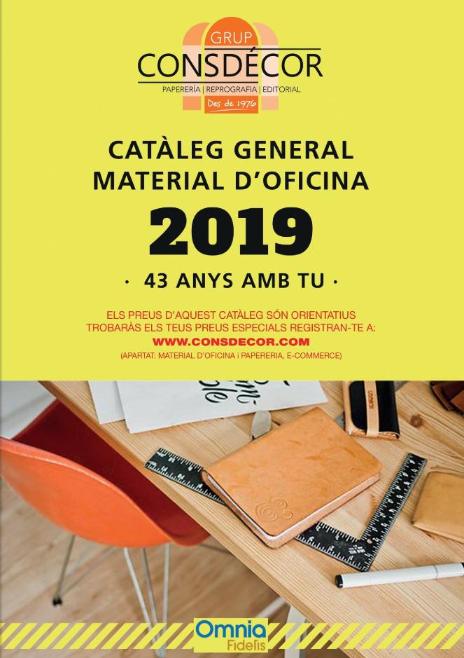 Catálogo general material de oficina
